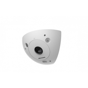 Hikvision 3MP Ultra-wide Panoramic Corner Mount Detention-Grade Camera, 2mm Lens