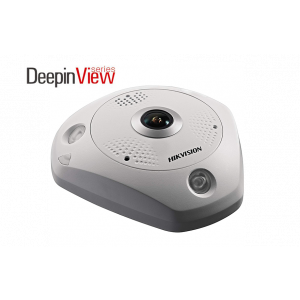 Hikvision 6MP IR DeepInView Network Fisheye Camera