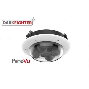 Hikvision EXIR Flexible PanoVu In-Ceiling Network Camera