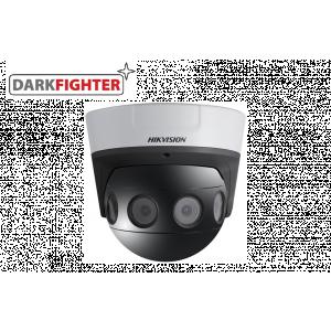 Hikvision 180°Stitched 8 MP PanoVu Darkfighter Camera