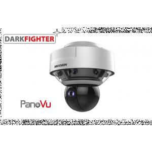 Hikvision 270° Stitched 24 MP PanoVu Camera with PTZ