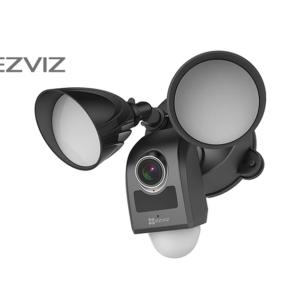 EZVIZ Black Smart Floodlight Camera